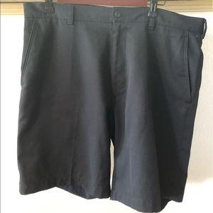 PGA Tour Men's Black Golf shorts